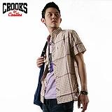 [크룩스앤캐슬] CROOKS&CASTLES 원포켓 포인트라인-베이지