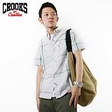 [크룩스앤캐슬] CROOKS&CASTLES 원포켓 포인트라인-그레이