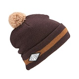 [폴러스터프]POLER STUFF - Rainer Vibes Beanie (Dark Brown)