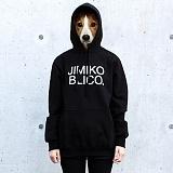 [지미코브리코]SJP - jimiko blico w-logo2-black poket hood-K 기모 후드티