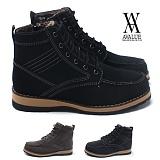 [에이벨류]AVALUE - B4051 킹맨 스웨이드 방한 부츠(남성용)/캐주얼 남자 털 워커 겨울 신발 슈즈 하이탑