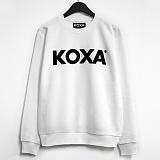 ★주문폭주★[코싸] koxa black logo-white mtm 맨투맨