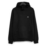 [코싸] koxa white symbol-black hood 후드티