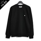 [코싸] koxa white symbol-black mtm-K 기모 맨투맨
