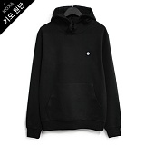 [코싸] koxa white symbol-black hood-K 기모 후드티