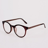 [옵틱스뮤지엄]OPTICSMUSEUM - UNIGENS GLASSES (DARK BROWN)