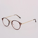 [옵틱스뮤지엄]OPTICSMUSEUM - ANTIC ROTH GLASSES (BROWN)