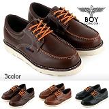 [보이런던]BoyLondon - G317 비젼 트레일 3.5CM 로퍼(다크브라운)-남성용/무료배송 캐주얼 남자 신발 가죽 단화 보트