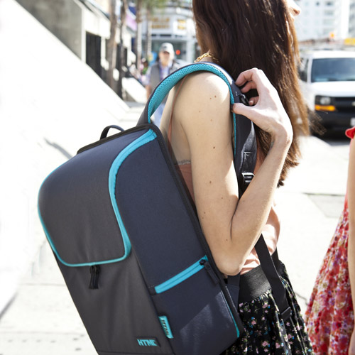 [에이치티엠엘]HTML - NEW H7 Backpack (Dark gray / Mint) 백팩