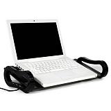 아이루 I-board mini(아이보드미니) 블랙유리/모니터/노트북받침대/USB