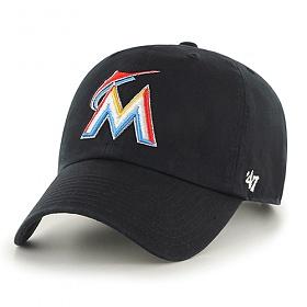 47브랜드 - MLB모자 마이아미 마린즈 엠엘비캡모자(MLB클린업모자) 야구모자