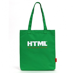 [에이치티엠엘]HTML- U1 Ecobag (Green)