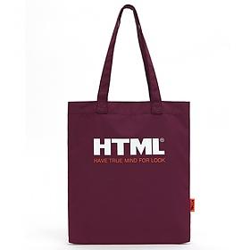 [에이치티엠엘]HTML- U1 Ecobag (Wine)