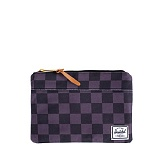 [�㽩]HERSCHEL - 14 S/S Field Pouch (Black Checkerboard)