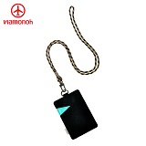 [비아모노] VIAMONOH NECK CARD CASE(V13F-9398_BK) 카드지갑