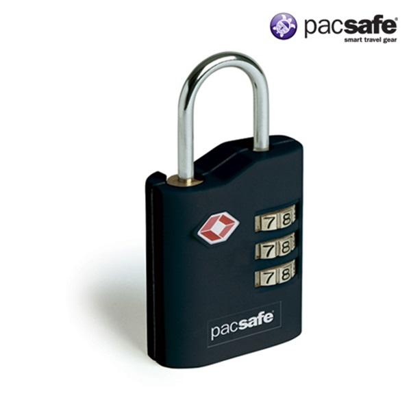 [팩세이프]PACSAFE - Prosafe 700 Black (TSA 미국교통보안국 인증 튼튼한 자물쇠)
