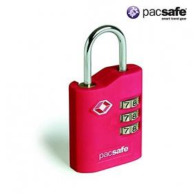 [팩세이프]PACSAFE - Prosafe 700 Red 공식수입정품 (TSA 미국교통보안국 인증 튼튼한 자물쇠)