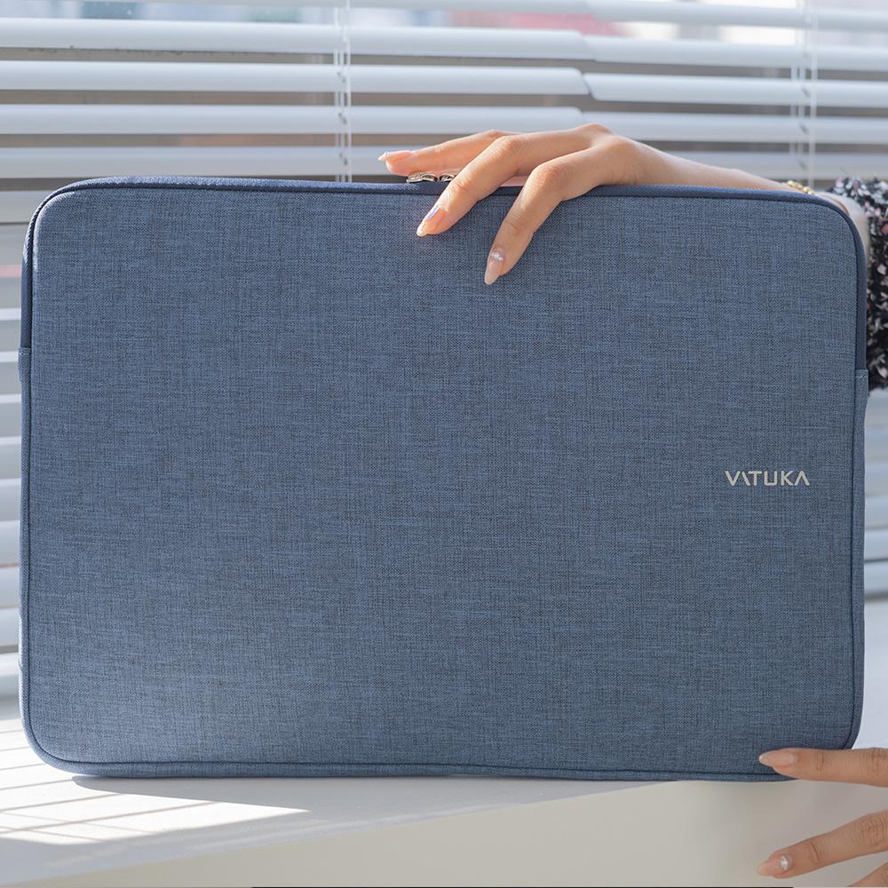 [바투카]VATUKA - 오슬로 [블루] 맥북프로 레티나 노트북 파우치 [15.4인치] - 삼성 NT900X4C / NT900X4D 사용가능