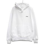 [이치니] ichiny big symbol white hood 후드티