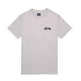 [������]STUSSY - 14SS STOCK POCKET TEE 114672 (GREY HEATHER) ���� ����Ƽ