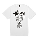 [������]STUSSY - 14SS ALL THE WAY LIVE TEE 1903214 (WHITE) ����Ƽ