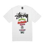 [������]STUSSY - 14SS ON TOUR TEE 1903240 (WHITE) ����Ƽ