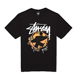 [������]STUSSY - 14SS POP SURFMAN TEE 1903243 (BLACK) ����Ƽ