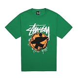[������]STUSSY - 14SS POP SURFMAN TEE 1903243 (GREEN) ����Ƽ