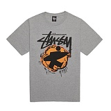 [������]STUSSY - 14SS POP SURFMAN TEE 1903243 (GREY HEATHER) ����Ƽ