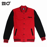 [오리수] ORISUE BASEBALL JACKET RED-STANDARD