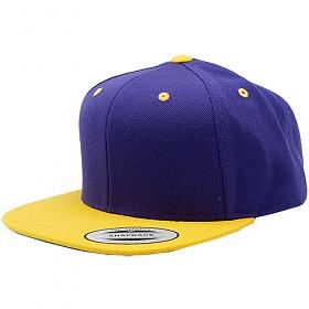 [유풍]Yupoong 무지 스냅백 yellow-purple