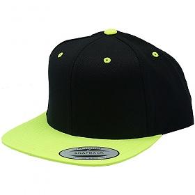 [유풍]Yupoong 무지 스냅백 green-blk