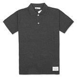 [유니어패럴] UNIAPPAREL 베이직 피그먼트 폴로셔츠 (차콜) pk티셔츠