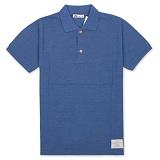 [유니어패럴] UNIAPPAREL 베이직 피그먼트 폴로셔츠 (블루) pk티셔츠