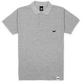 [유니어패럴] UNIAPPAREL 윙로고 포켓 폴로셔츠 (그레이) pk티셔츠