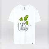 [더셔츠] green tulip - 남여공용 그래픽 일러스트 반팔티셔츠