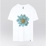 [더셔츠] sky flower - 남여공용 그래픽 일러스트 반팔티셔츠