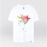 [더셔츠] butterfly - 남여공용 그래픽 일러스트 반팔티셔츠