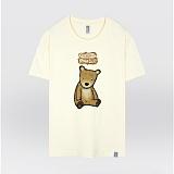 [더셔츠] brown bear - 남여공용 그래픽 일러스트 반팔티셔츠