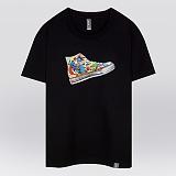 [더셔츠] shoes superman - 남여공용 그래픽 일러스트 반팔티셔츠