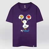 [더셔츠] my future - 남여공용 그래픽 일러스트 반팔티셔츠