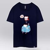 [더셔츠] toast man - 남여공용 그래픽 일러스트 반팔티셔츠