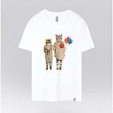 [더셔츠] vintage cat - 남여공용 그래픽 일러스트 반팔티셔츠