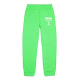 [������]STUSSY - WT SWEATPANT 195007 (Neon Green) ������� Ʈ���̴� ��������