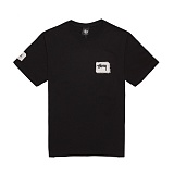 [������]STUSSY - 14SS 8 BALL STITCH TEE 1903213 (Black) ����Ƽ