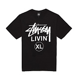 [������]STUSSY - 14SS LIVIN XL TEE 1903234 (Black) ����Ƽ