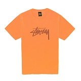 [������]STUSSY - 14SS STOCK TEE 1903253 (NEON ORANGE) ����Ƽ