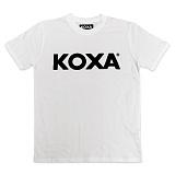 [코싸] koxa logo short white 반팔티