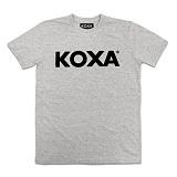 [코싸] koxa logo short gray 반팔티