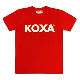[코싸] koxa logo short red 반팔티